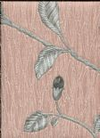 Toscani Wallpaper Lia Rosegold Grey 35177 By Holden Decor For Colemans